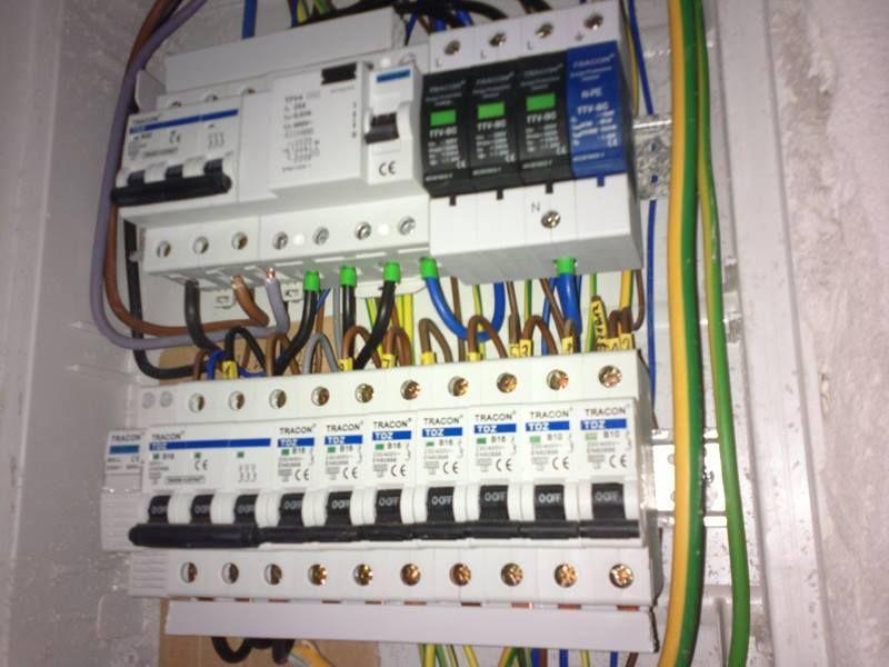 Výmena elektrických rozvodov v dome