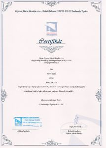 Hikvision certifikat