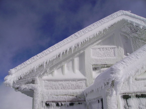 kamera v zime