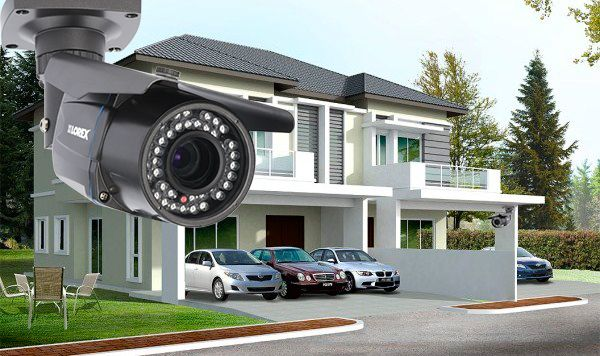 Kamerový systém Hikvision narodinnom dome