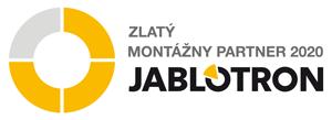 Zlatý montážny partner Jablotron