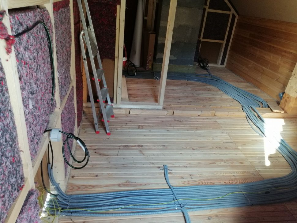 Elektroinštalácia vpodlahe