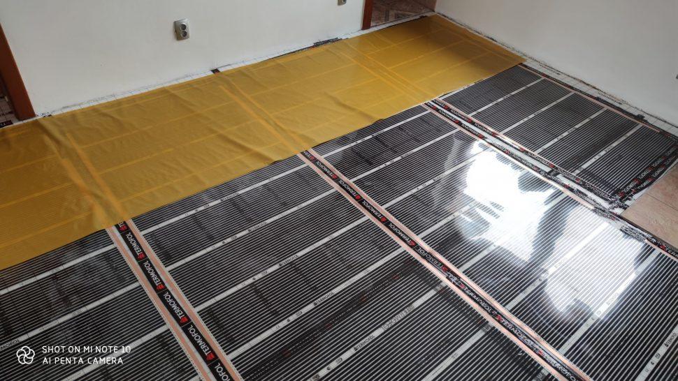Vykurovacie fólie pod podlahou